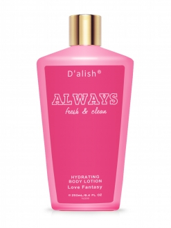 Always Fresh & Clean Love Fantasy Body Lotion  250 ML