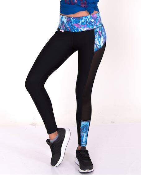 Leggings Negro Transparencias DaliSh M TALLA
