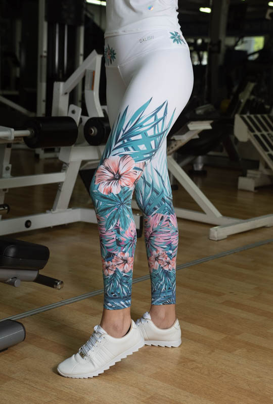 Leggings Largo Estampado DaliSh M TALLA