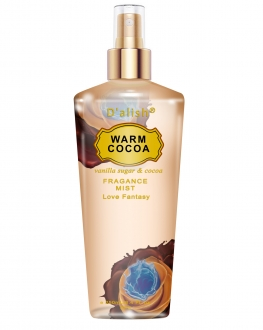 Warm Cocoa Love Fantasy Fragrance Mist